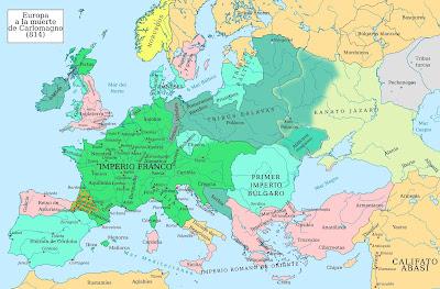 Europa hacia el año 814 - Wikipedia -