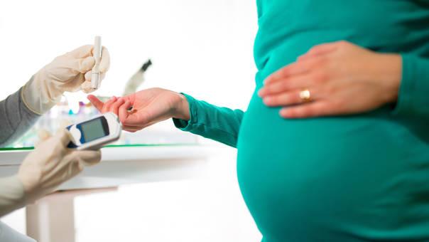 visión borrosa durante el embarazo diabetes gestacional