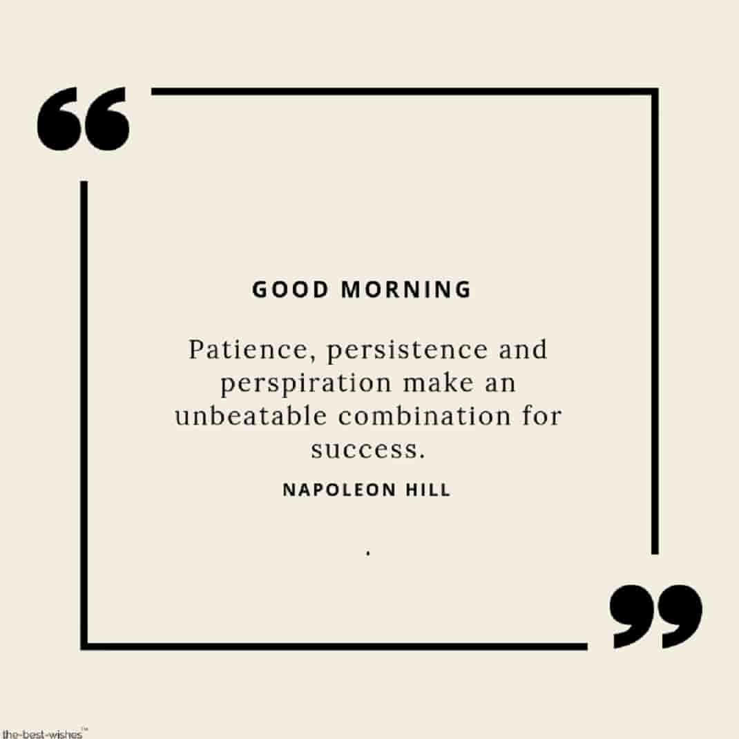 best wishes good morning success quotes