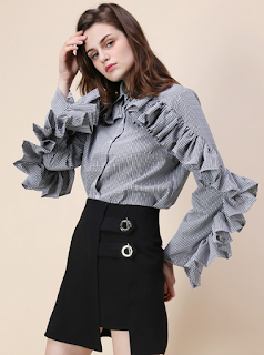 http://www.chicwish.com/ruffle-fantasy-gingham-shirt-in-black.html