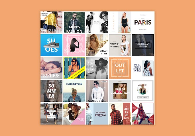 20+ Instagram fashion posts banners