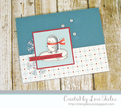 It's a Wonderful Life card-designed by Lori Tecler/Inking Aloud-stamps from Hello Bluebird