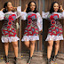 2018 African Short Gown for Pretty African Ladies
