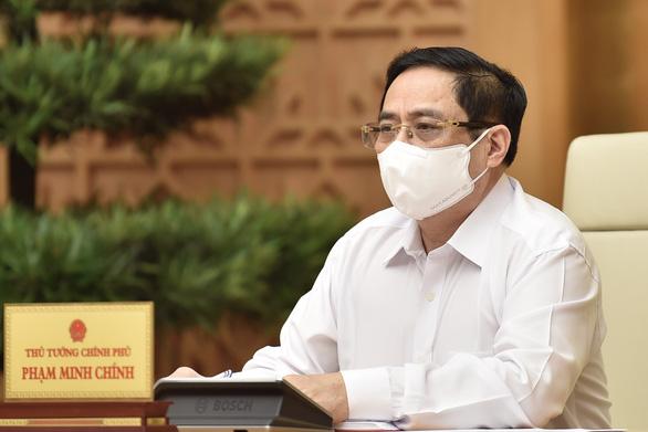 Bắc Giang, Bắc Ninh họp trực tuyến với Thủ Tướng về phòng chống COVID-19