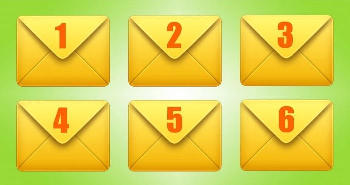 Выберите конверт и узнайте, что ждет вас в ближайшее время