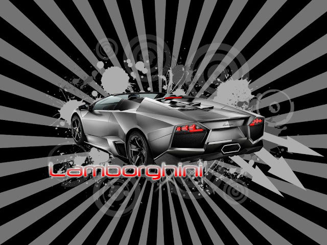 Lamborghini Car Graphic Design
