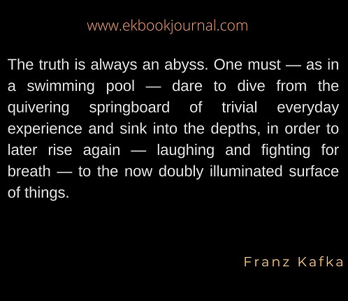 Quote of the Day | Truth Quotes | Franz Kafka