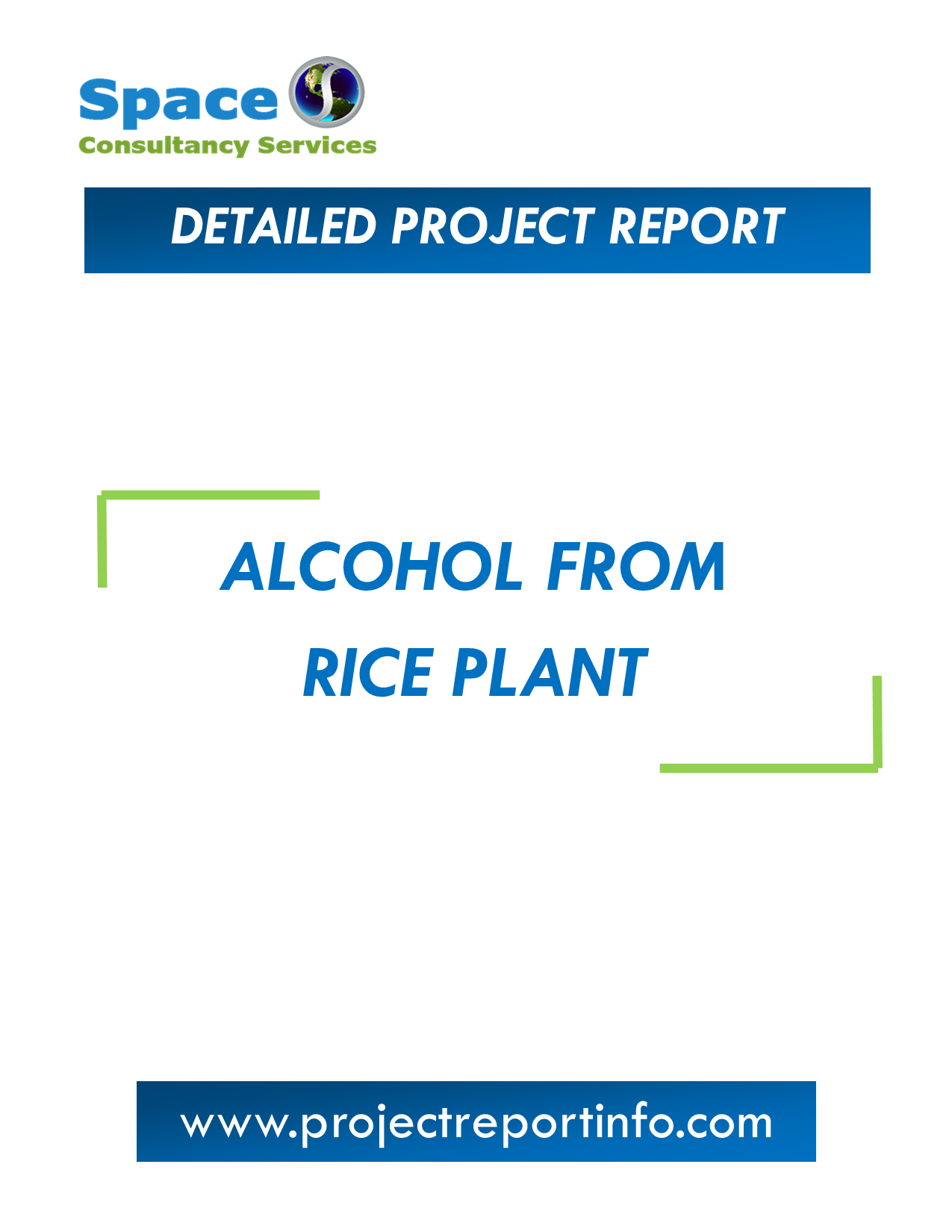 Project Report on Alcohol from Rice Plant