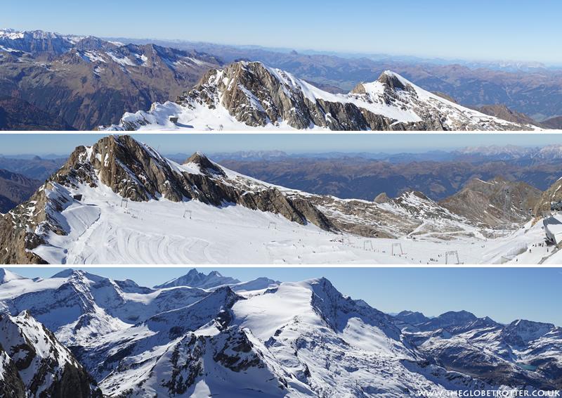 The Kitzsteinhorn glacier in Kaprun, Austria