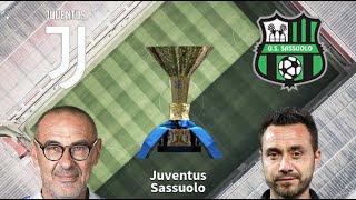 LIVE MATCH: Juventus Vs Sassuolo Seria A 01/12/2019