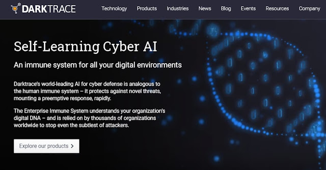Darktrace AI uses data analytics to protect against cyber attacks