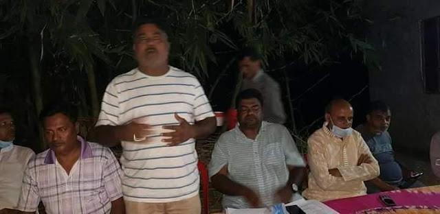 কোটচাঁদপুর পৌর বি এন পি'র   ২ নং ওয়ার্ড শাখার   কমিটি গঠন