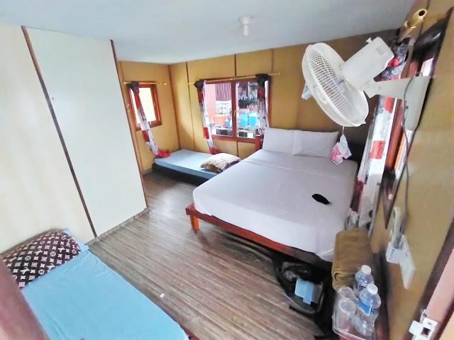 Kamar di Pulau Labun