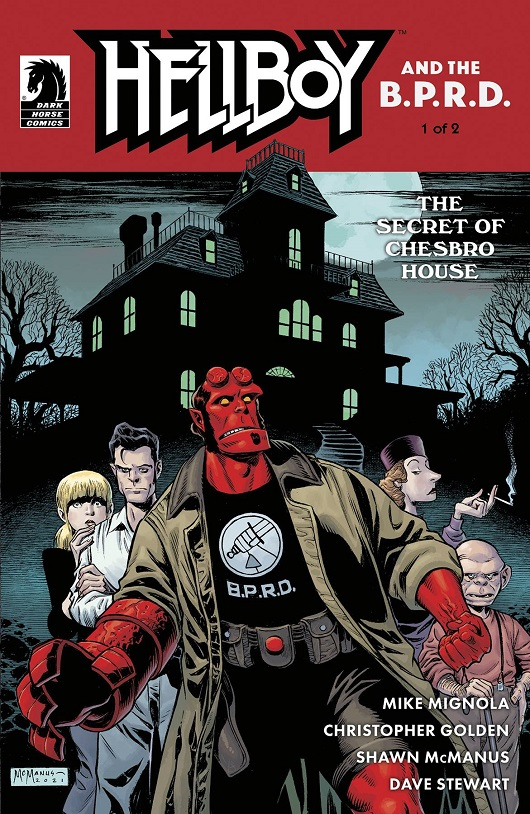 Cover of Hellboy & BPRD - Secret of Chesbro House #1