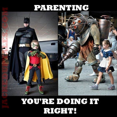 Comic Con Cosplay Geek parenting