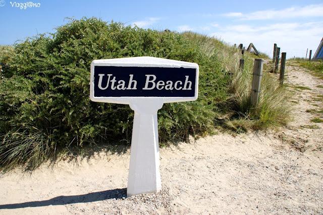 La spiaggia più occidentale delle 5 dello sbarco
