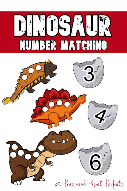 Preschool Dinosaur Printable