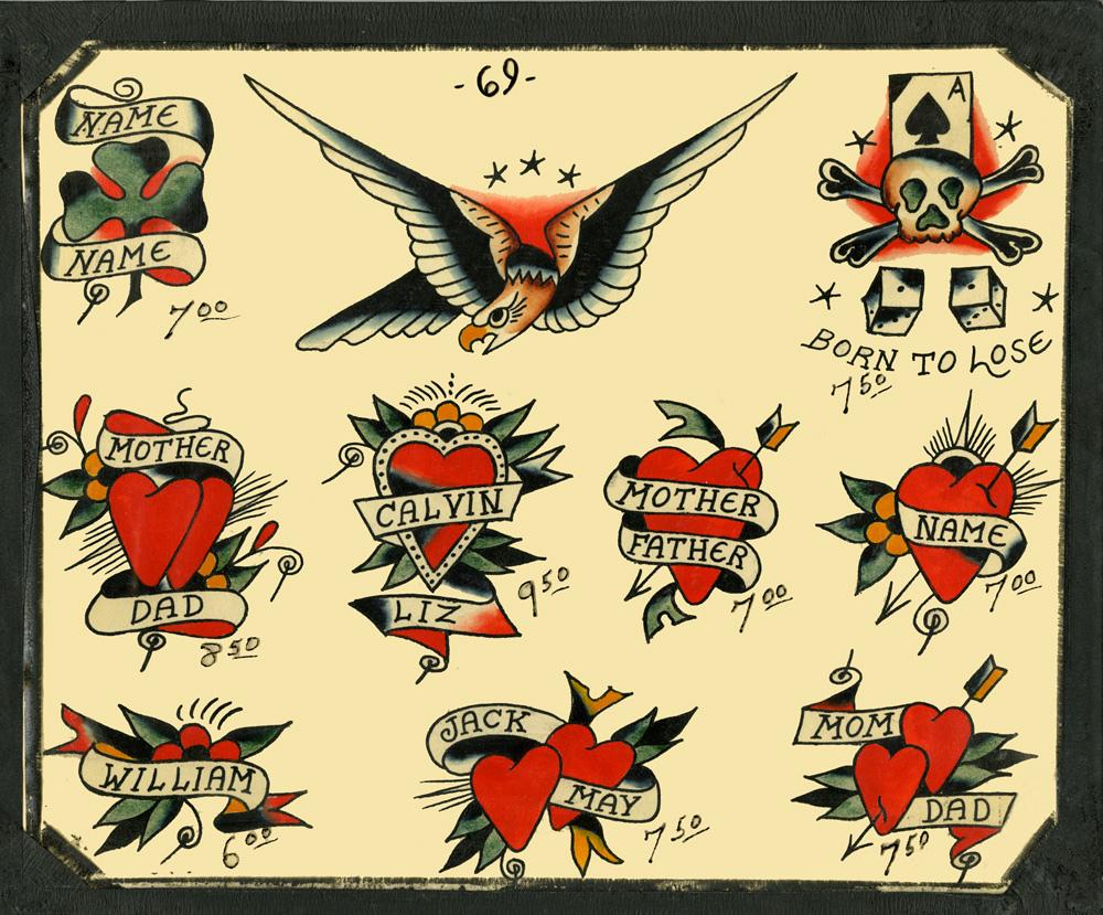 and art tatoo in glenadale parlor vintage