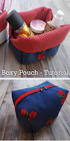 Boxy Pouch Bag - Tutorial