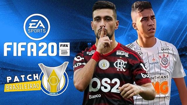 FIFA 20 MOBILE PATCH BRASILEIRÃO V7!!