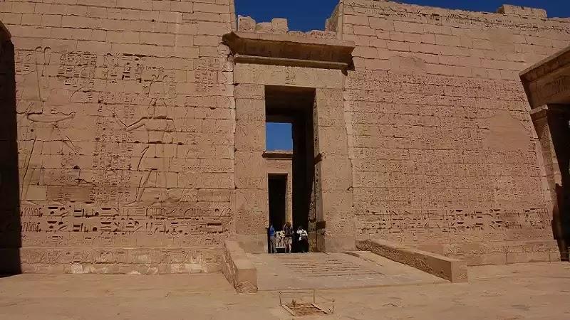 The Ramesseum Temple