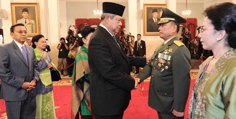 Untuk Akhiri Isu Kudeta Moeldoko Harus Temui SBY