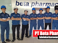 Lowongan Kerja PT Beta Pharmacon Surya Cipta Karawang