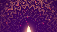 Happy Diwali Mandala Mobile Wallpaper,wishes