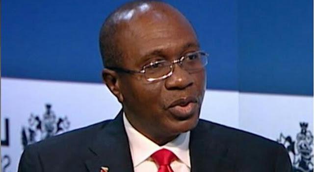 """Alt: = """" Godwin Emefiele, Nigerian CBN Governor"""""""