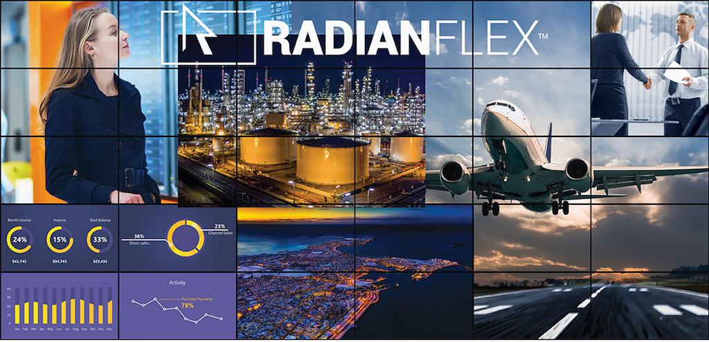 Black Box Radian FleX: una solución videowall basada 100% en software con soporte para cualquier resolución