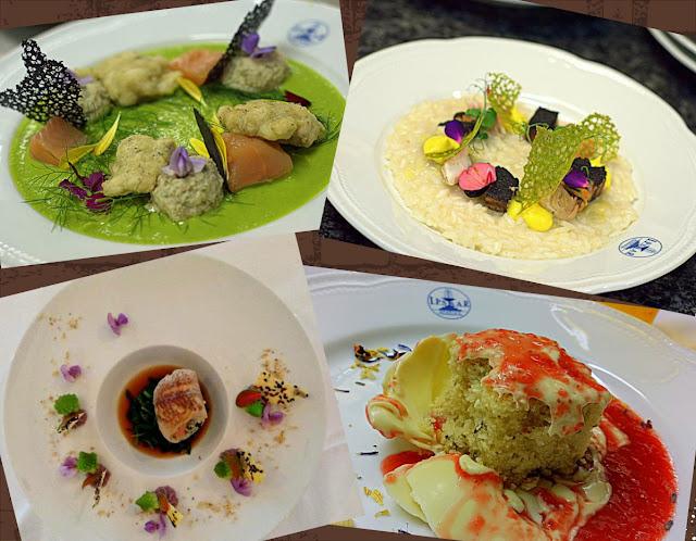 Un fiore nel piatto 2017 i piatti ed i cuochi premiati
