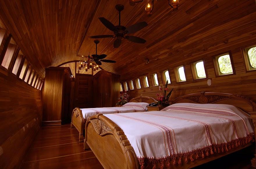 Plane Hotel, Costa Rica