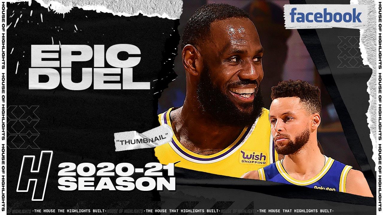 Stephen Curry 27pts vs LeBron James 22pts   March 15, 2021   2020-21 NBA Season