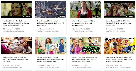 018 Hindi film Collection 2018 year touch and Play your favourite film
