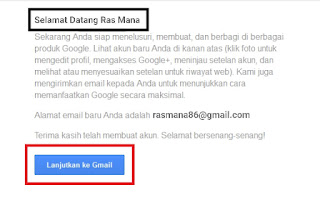 Cara membuat Email Gmail dengan mudah, Satu Akun Gmail Untuk semua fitur Yang di sediakan Oleh Google