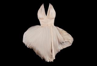 Vestido de Marilyn Monroe vendido en subasta