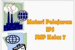 Materi Pelajaran IPS Kelas 7 SMP