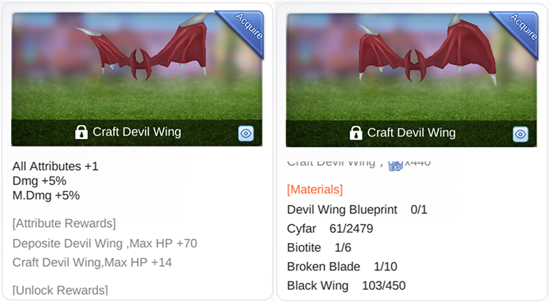 How to Unlock Devil Wing Recipe in 'Ragnarok M: Eternal Love