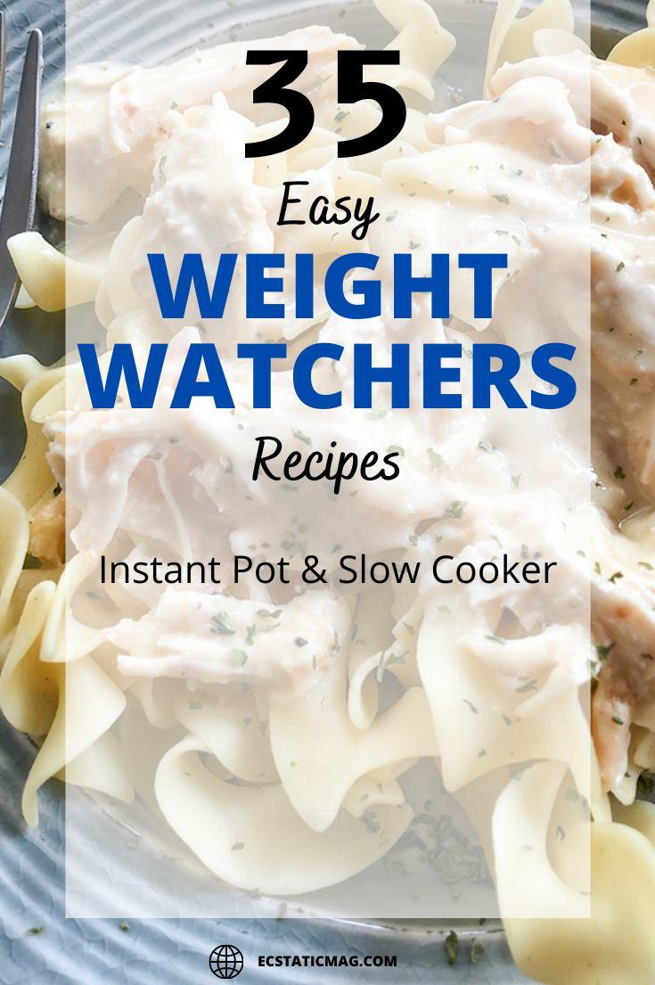 Best Weight Watchers Instant Pot & Slow Cooker Recipes