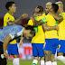 Brasil vence o Uruguai fora de casa pelas Eliminatórias da Copa