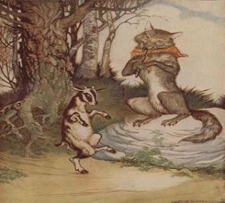 قصص أطفال قصيرة قصة الماعز الصغير والذئب الجائع