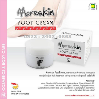 JUAL MORESKIN FOOT CREAM NASA