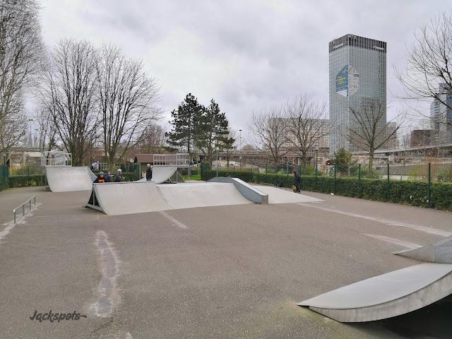 Skate park Neuilly