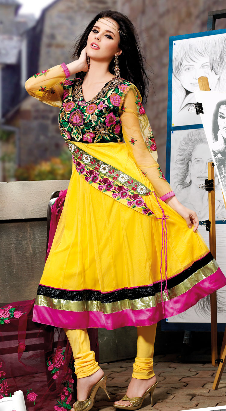 Indian Cultural Shalwar Kameez Dresses of 2012  Online