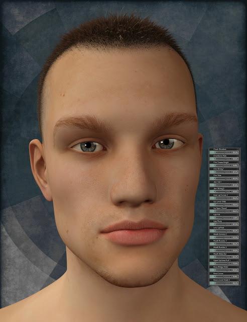 Genesis 3 Male Head Morph Resource Kit