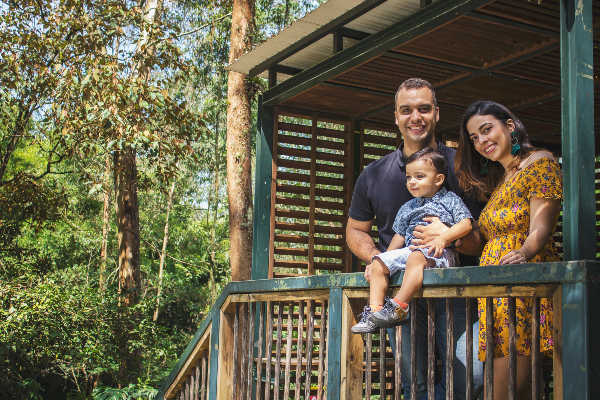 Sesión familiar   Verónica, Javier y David