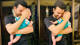 Aamir Ali shares first glimpse of his daughter Ayra Ali as she turns one