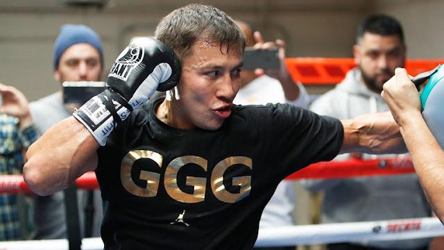 Gennady GGG Golovkin Training
