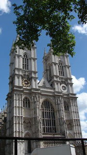 Westminster Abbey Eingang Turm
