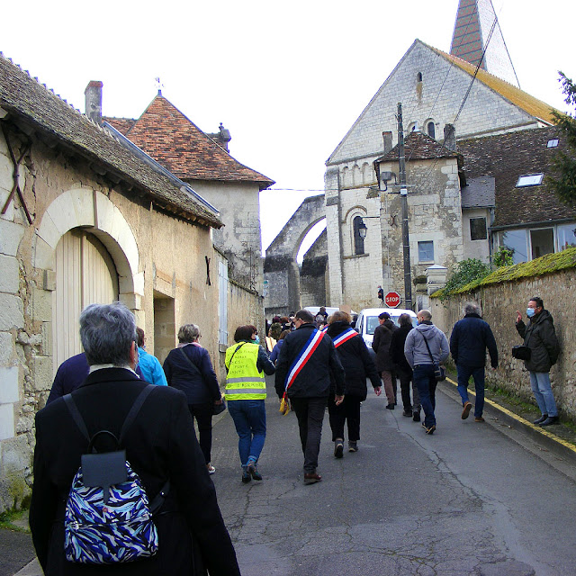 Demonstrating against a village school class closure, Indre et Loire, France. Photo by Loire Valley Time Travel.